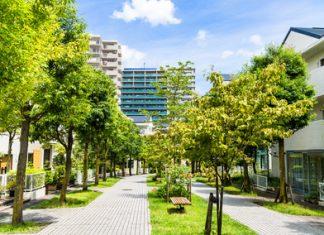 緑の多い地域 マンション