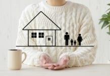 住宅を持ちたい家族