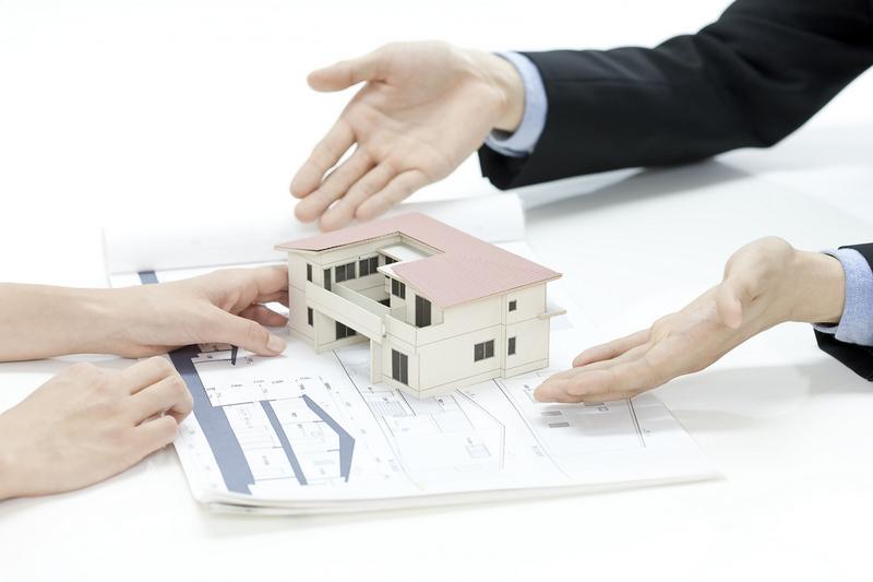 住宅販売の説明