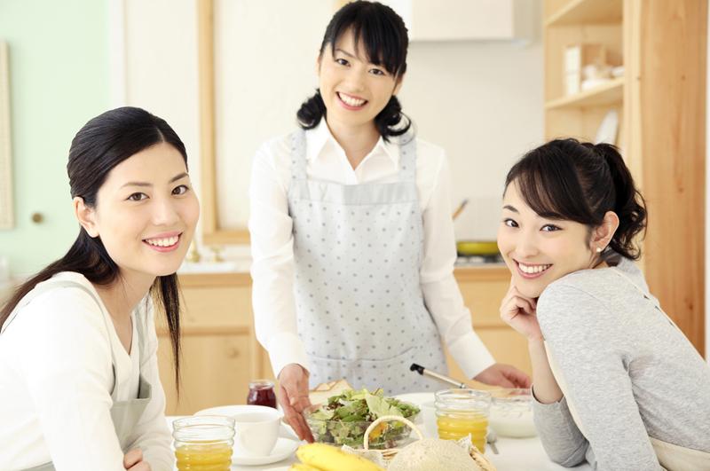 三人の女性 マイホーム